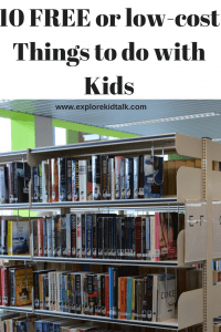 10 Free Things to do with your kids
