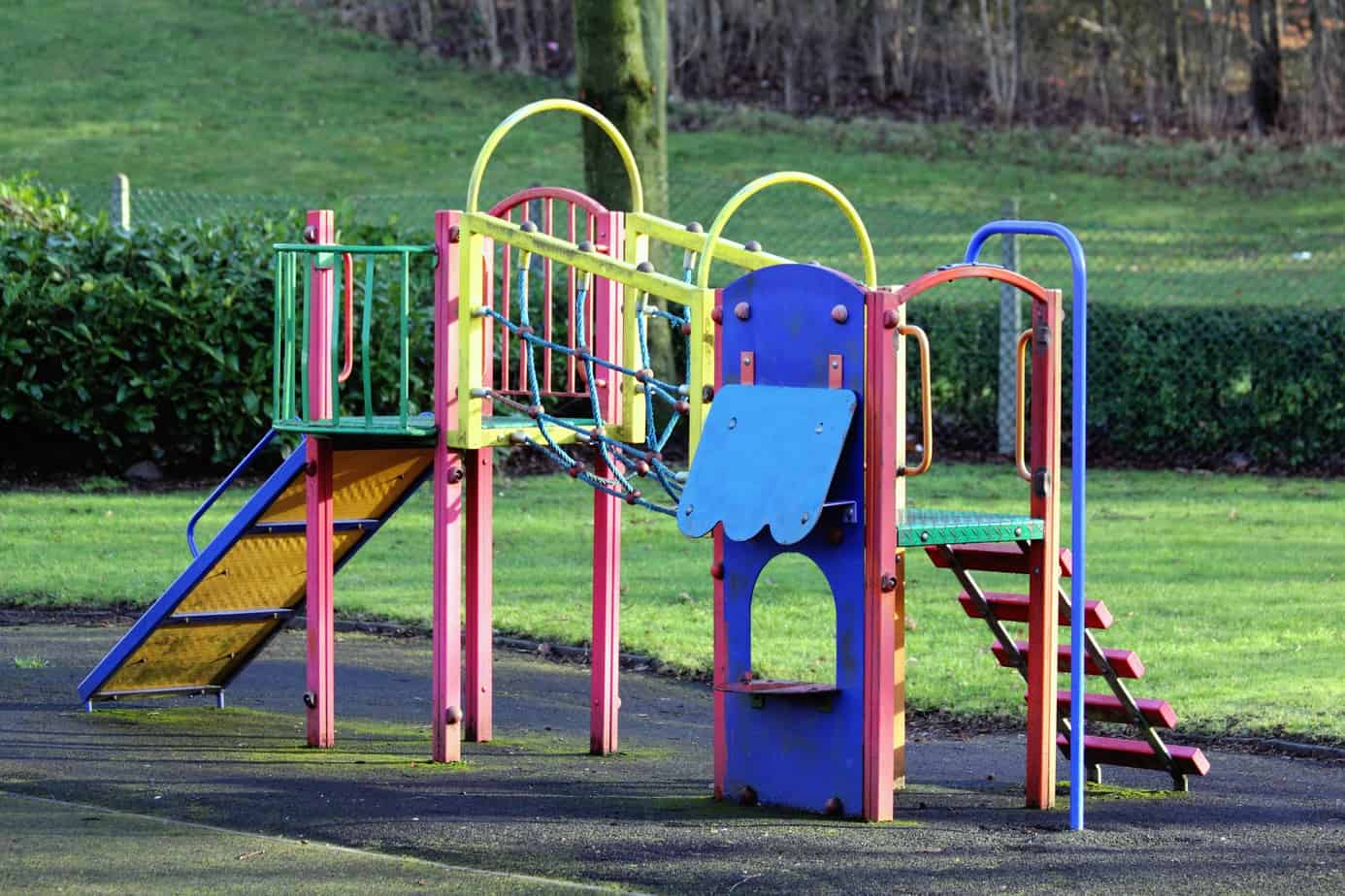 Park is a great activity to develop gross motor skills in children