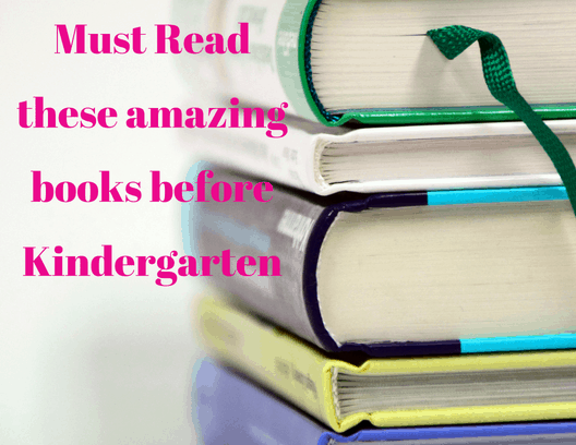 Books to read to Kindergarteners