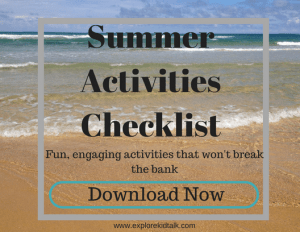 60 Activities for 60 Days of Summer