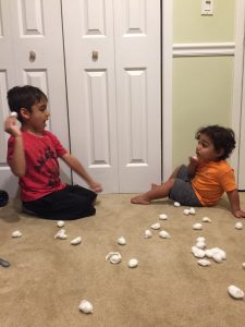 Simple activities to develop gross motor skills in children