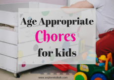 Age appropriate chores for kids. Teach responsibility and independence with age appropriate chores.