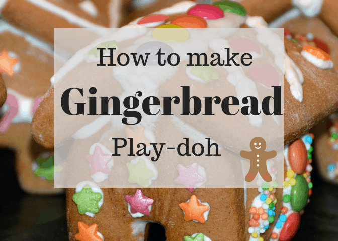 How to make Gingerbread Play-doh. This play-doh makes the house smell great. It's easy to roll and shape.