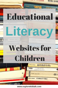 Educational Literacy Apps and Websites for children. No more mindless screen time with these sites.