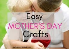 Easy Mother's Day crafts that all kids can make