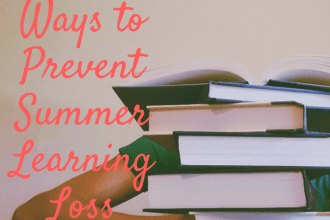 Tips to Prevent Summer Learning Loss