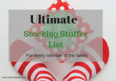Ultimate list of stocking stuffers for every member of the family. Get gifts to fill their stockings that they actually want.