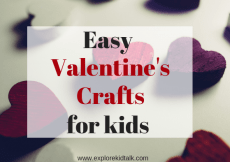 Easy Valentines day crafts for kids that anyone can do. Have fun making these crafts together.