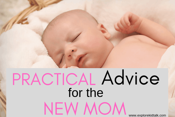 Baby sleeping. Learn practical advice for new moms