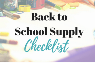 Your source for a last minute back to school checklist