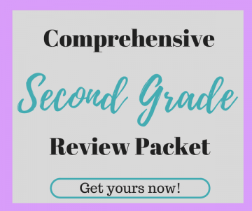 Comprehensive Second Grade Review Packet