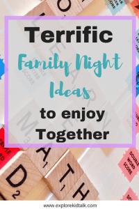 Terrific Family Night Ideas to Enjoy Together