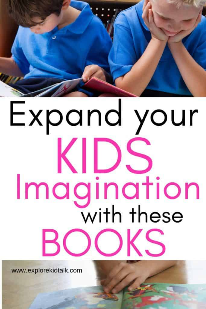 Children reading. Expand your kids imagination with this reading list