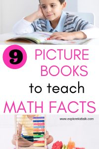 Picture books to teach math facts