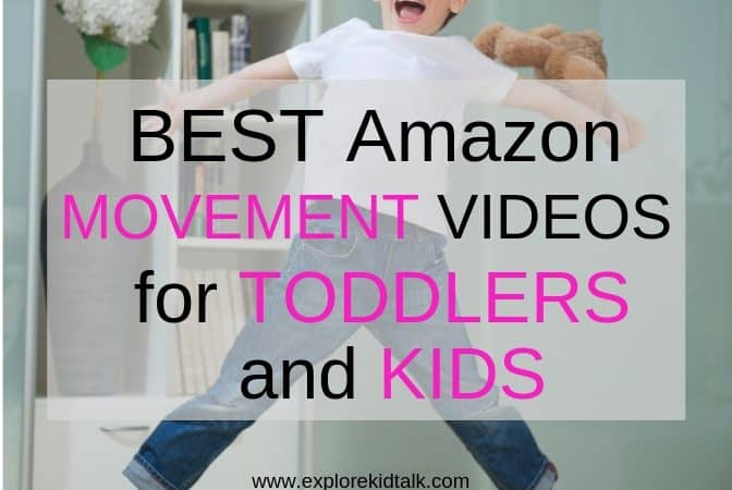 Amazon Prime Kids movement videos for kids
