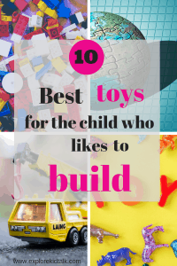The best toys for the child that likes to build. Work on motor skills, development and let their imaginations lead the way.